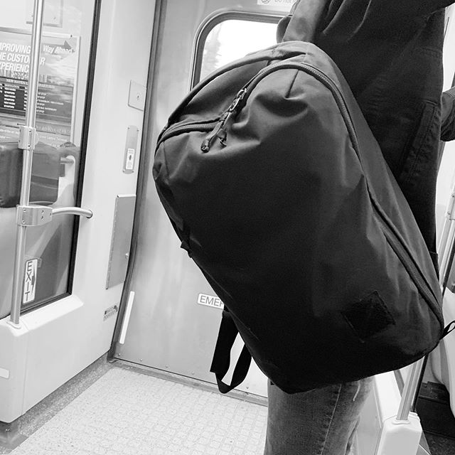 It's good to see people getting @evergoods_ packs. I spotted 3 CPL24s during this morning's commute. Check the blog for packs recommendations, including the CPL24