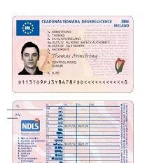 NDLS Specimen Licence
