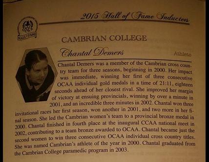 Chantal's biography
