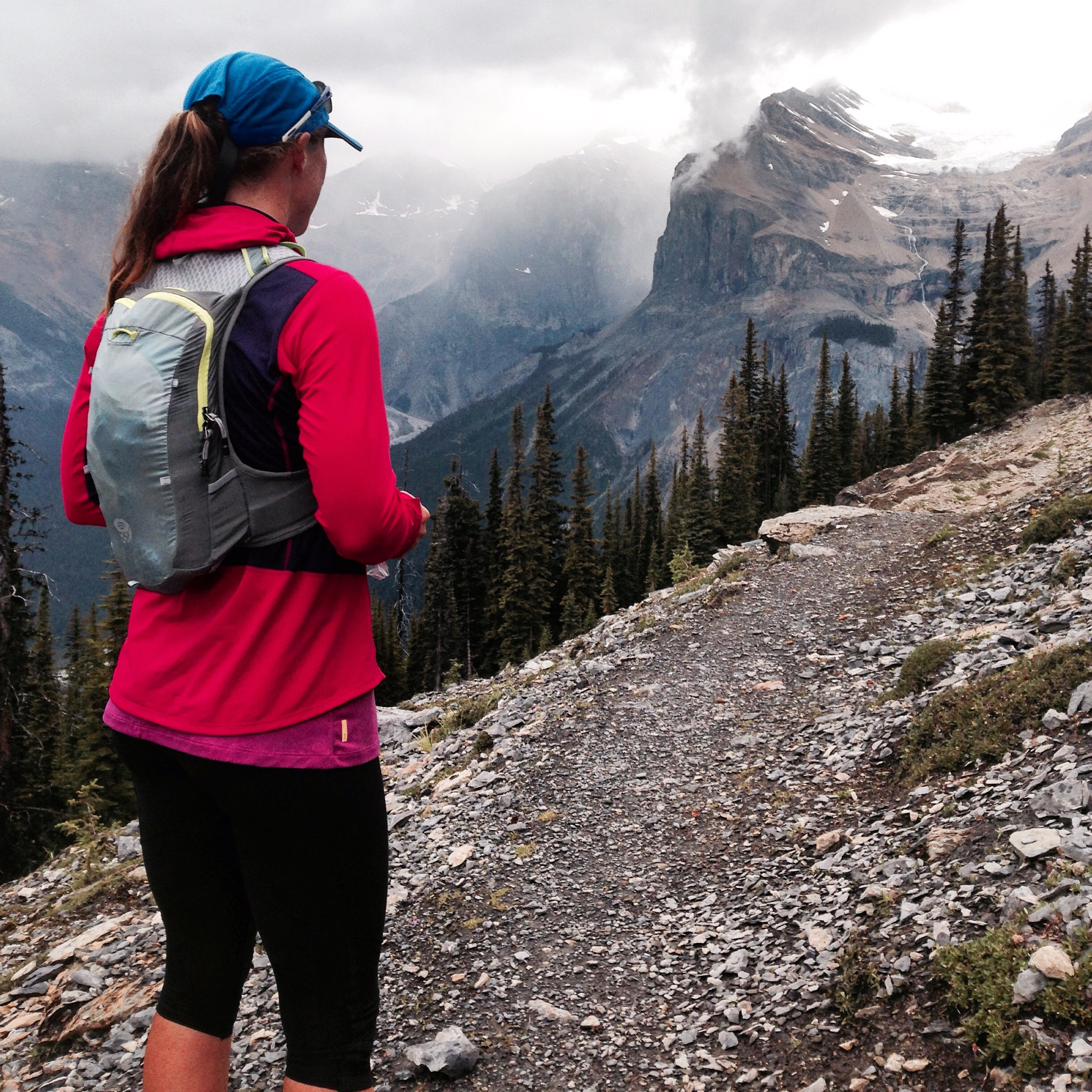 Views from the trails around Emerald Lake