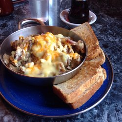 Breakfast bowl at the Big Bend