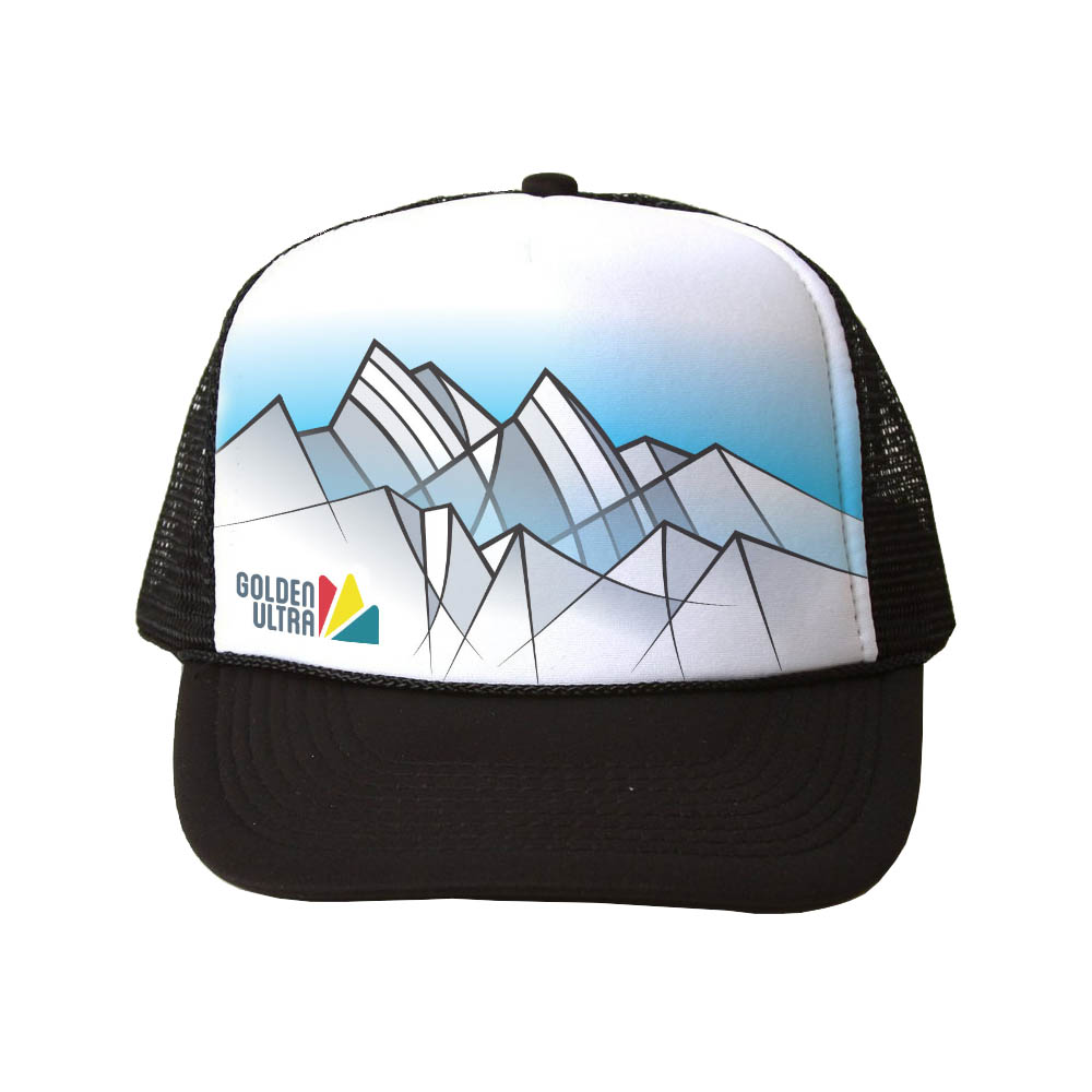 We do however HAVE trucker caps as part of our volunteer swag and available for sale for all racers for $20!  * Caps are hand-drawn by  Folk&Wild .