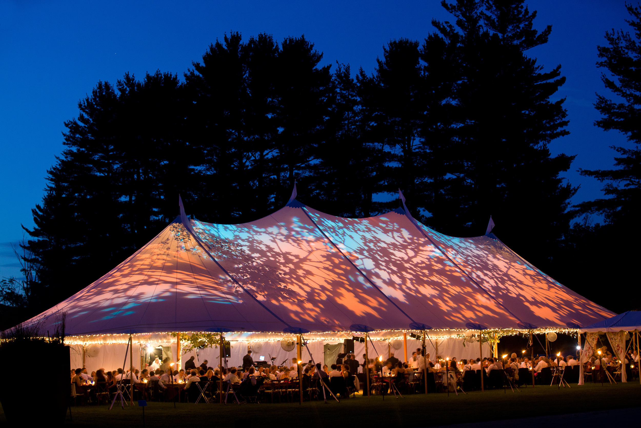 Tented Wedding at The Mount