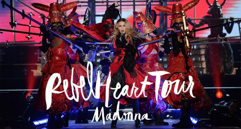 - MADONNA REBEL HEART TOUR / LIVE NATION / Designer: Arianne PhillipsAssistant Costume Designer