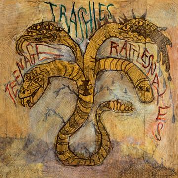 "The Trashies ""Teenage Rattlesnakes"" LP (GO-60)"