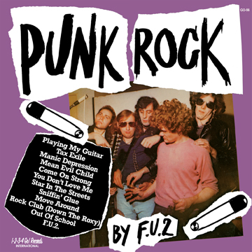 """F.U.2 """"Punk Rock"""" LP (GO-56)"""