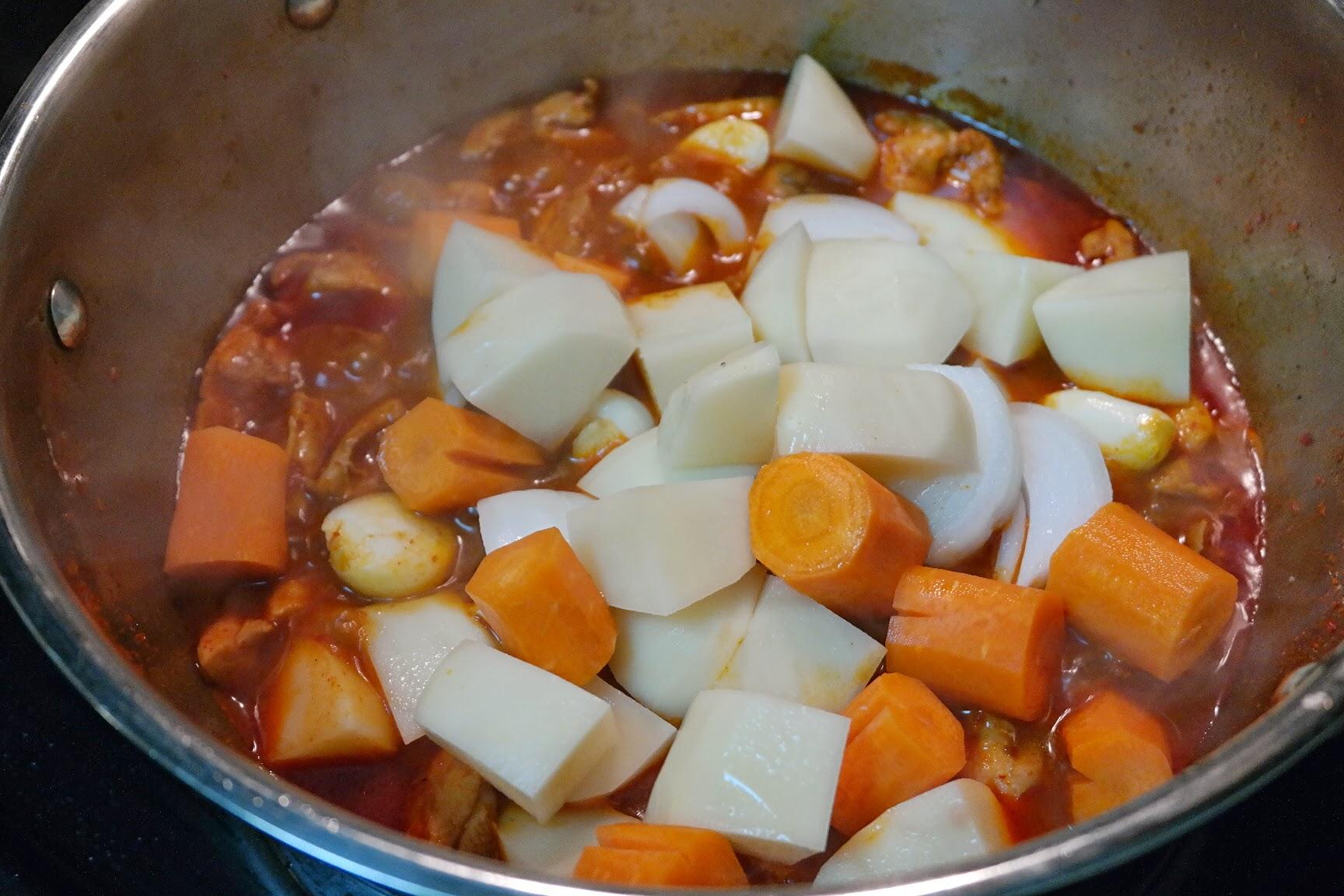 dakdoritang-vegetables.JPG