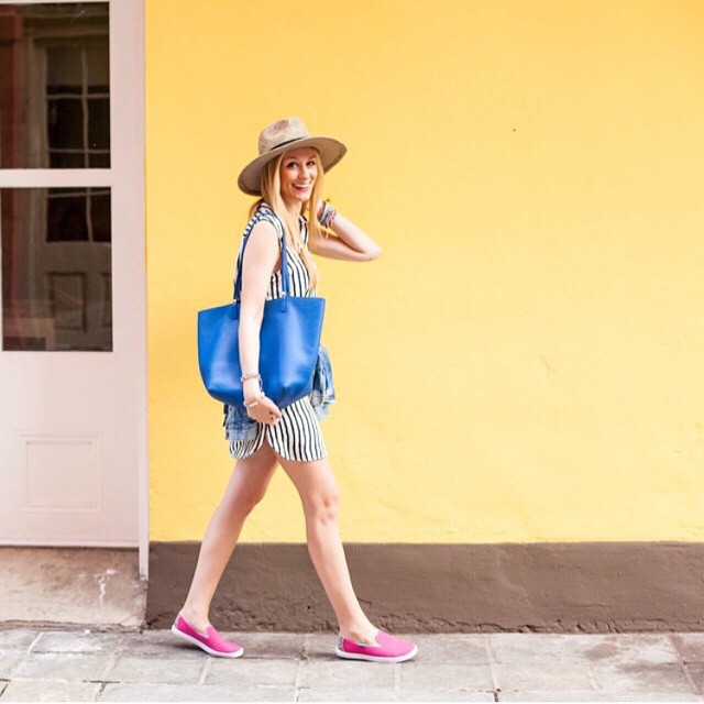 It's officially summer and by the looks of it  @apinchoflovely is ready. #repost #ootd #style