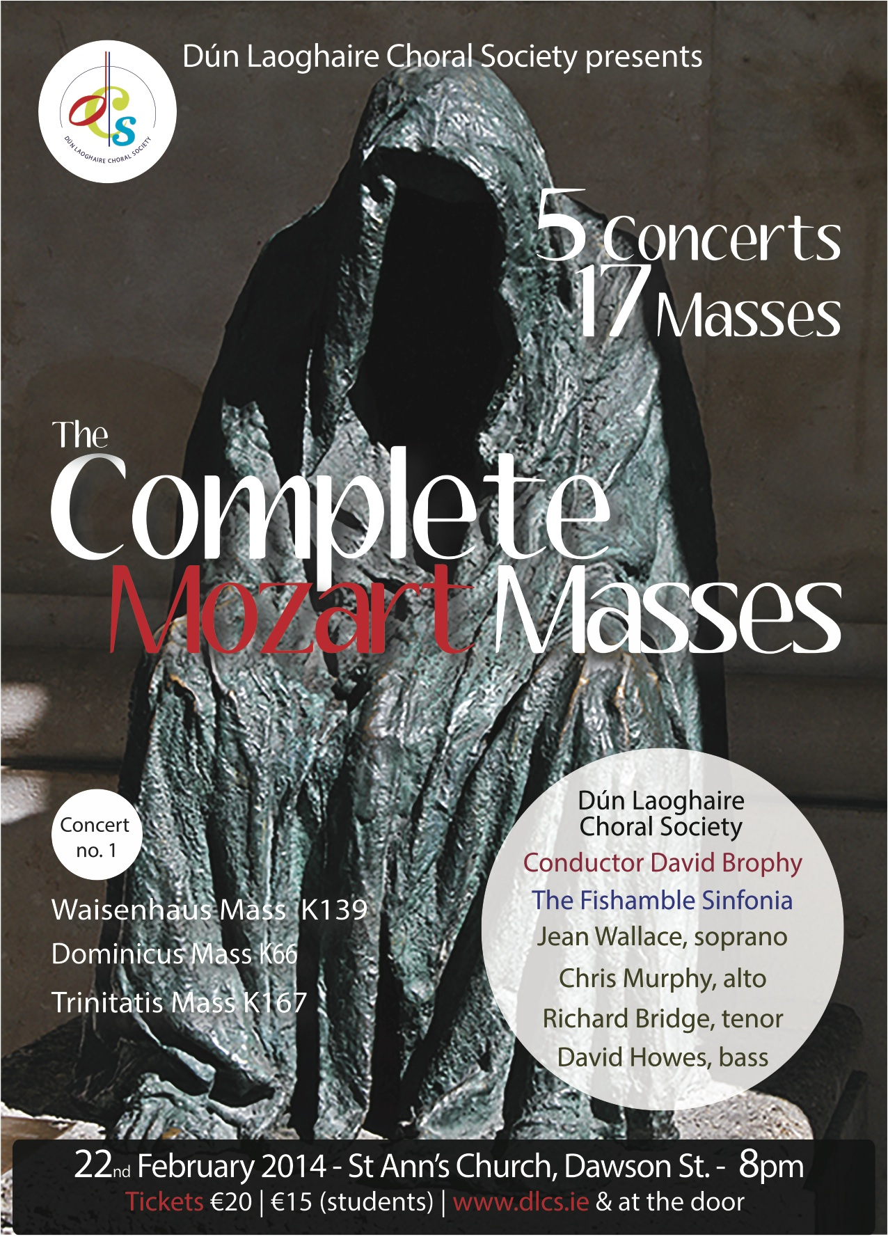Complete Mozart Masses Concert 1, 22nd February 2014