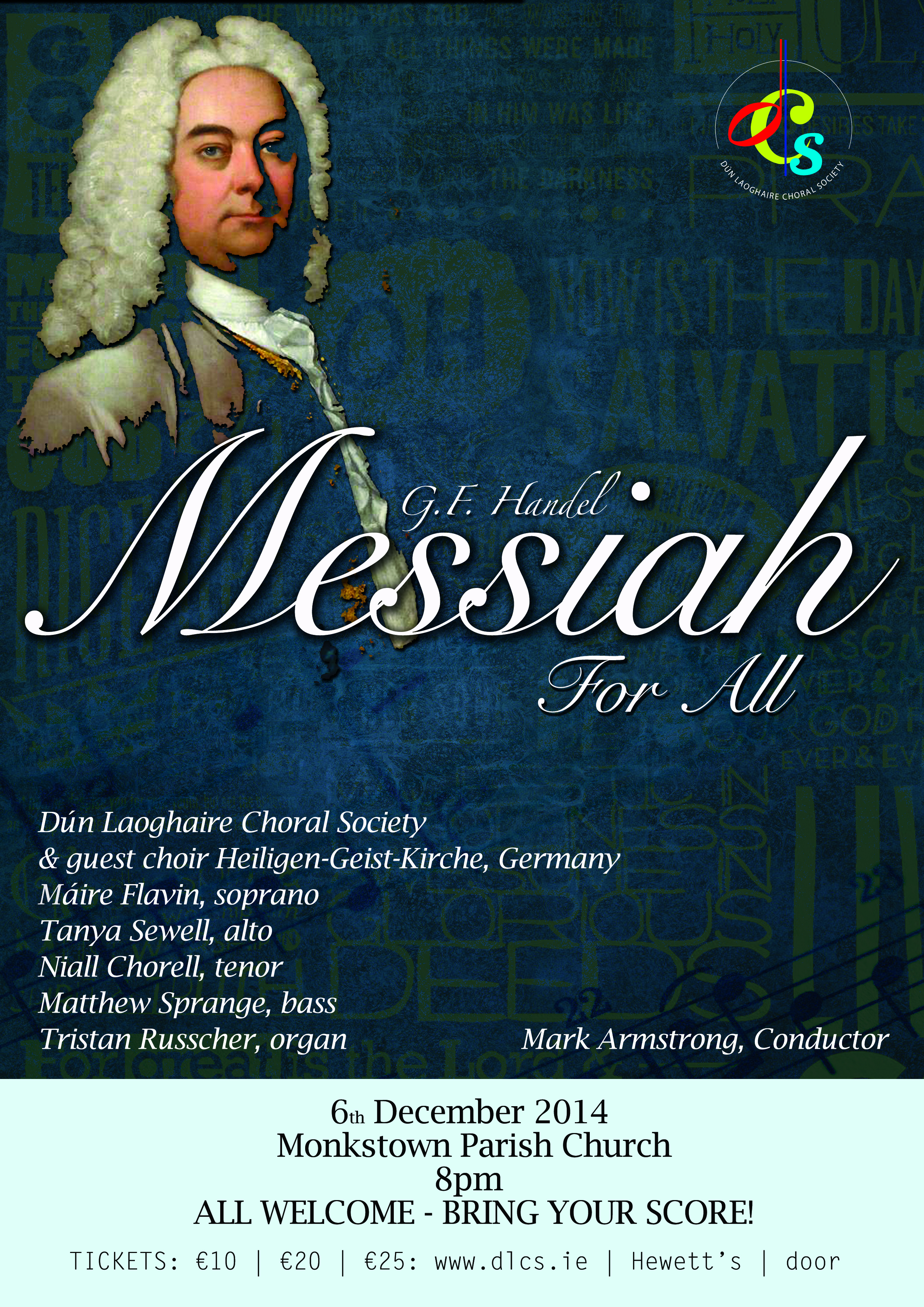 Messiah for All, 6th December 2014