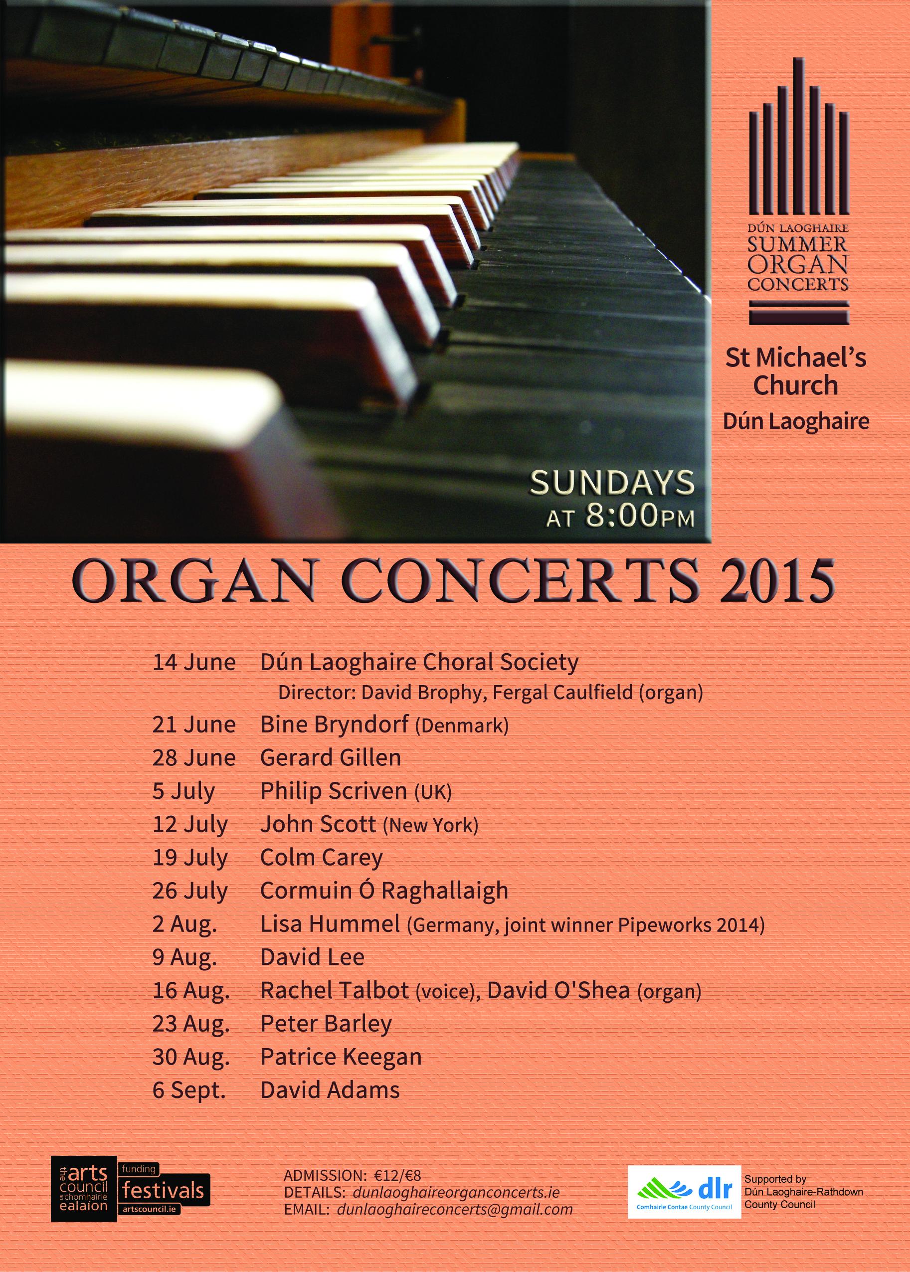 Dun Laoghaire Organ Concerts