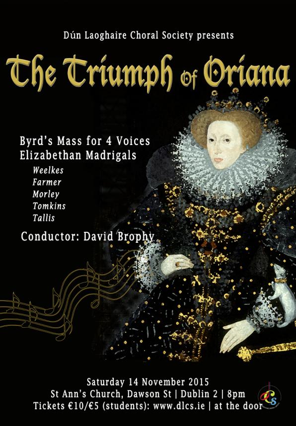 David Brophy Oriana concert