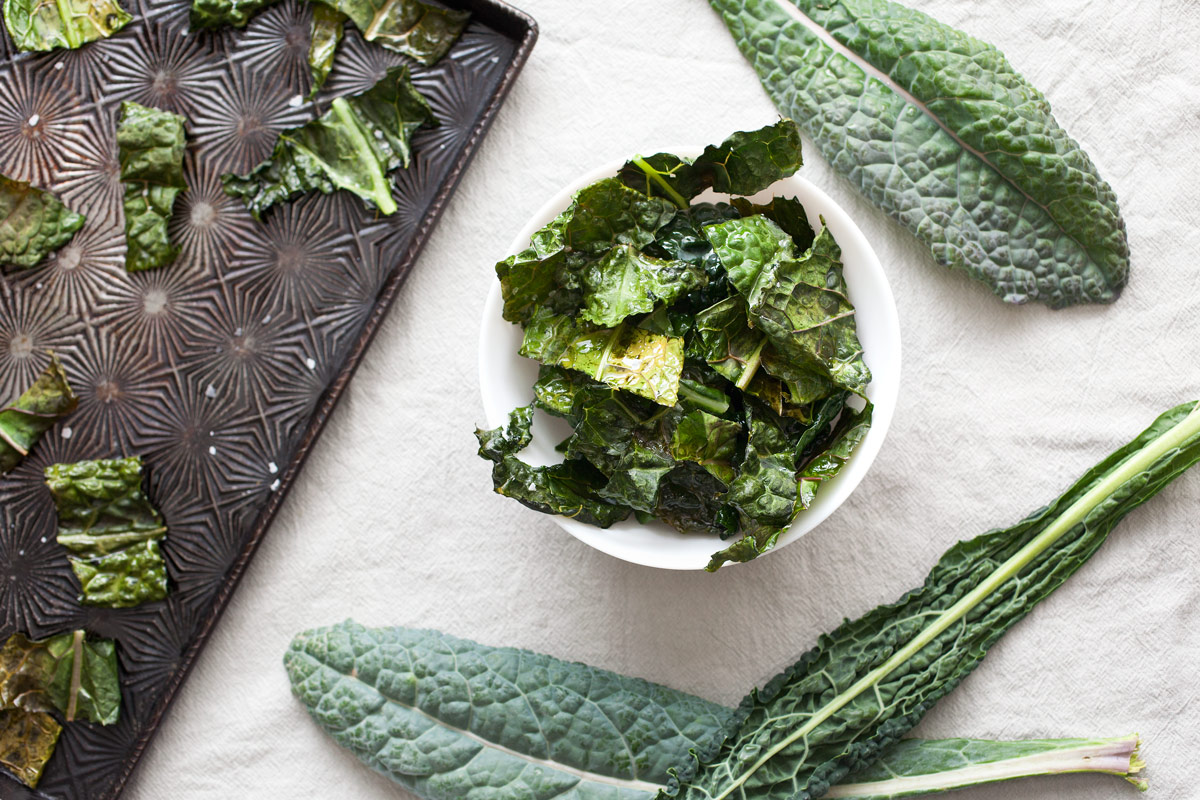 Crunchy Kale Chips recipe