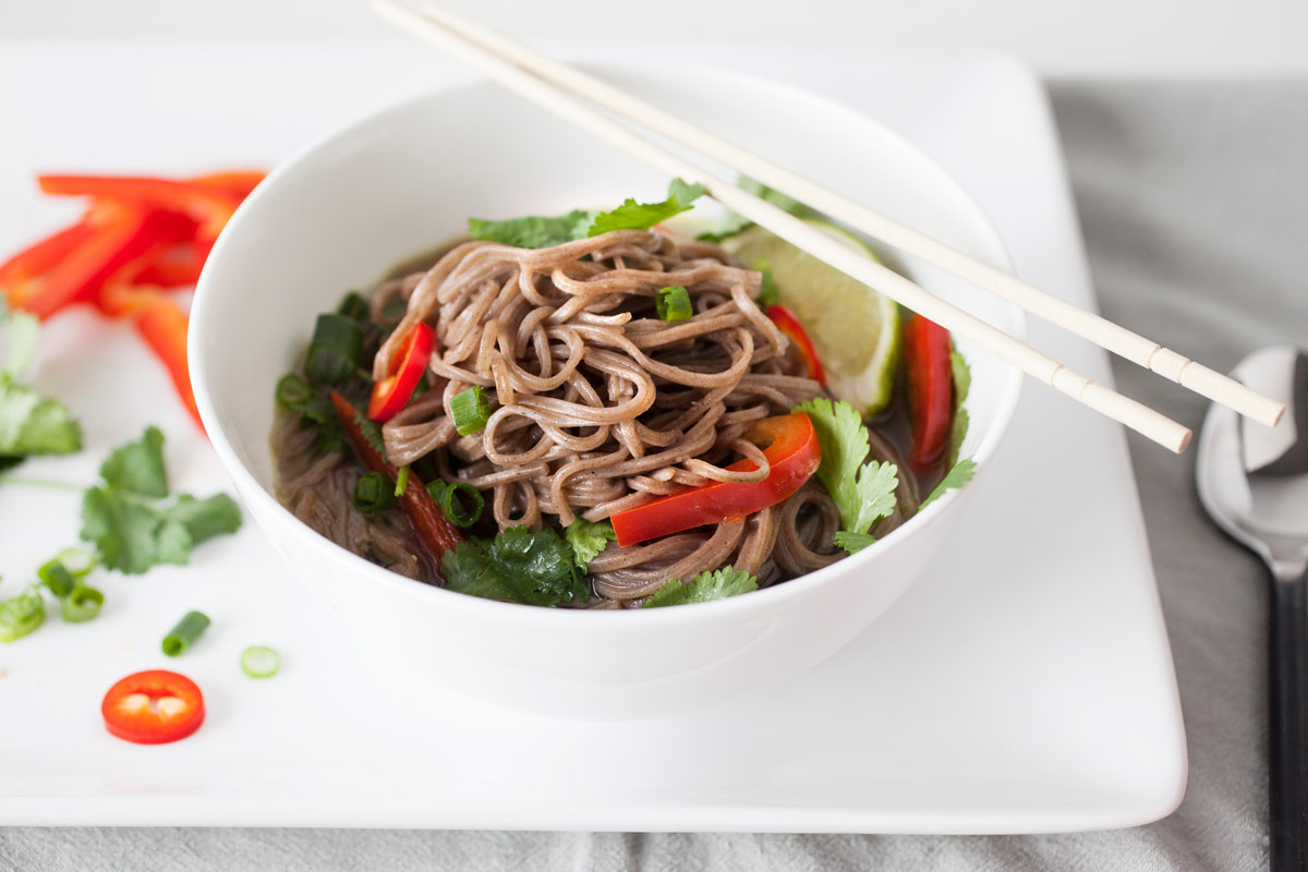 Lemongrass Noodle Bowl recipe