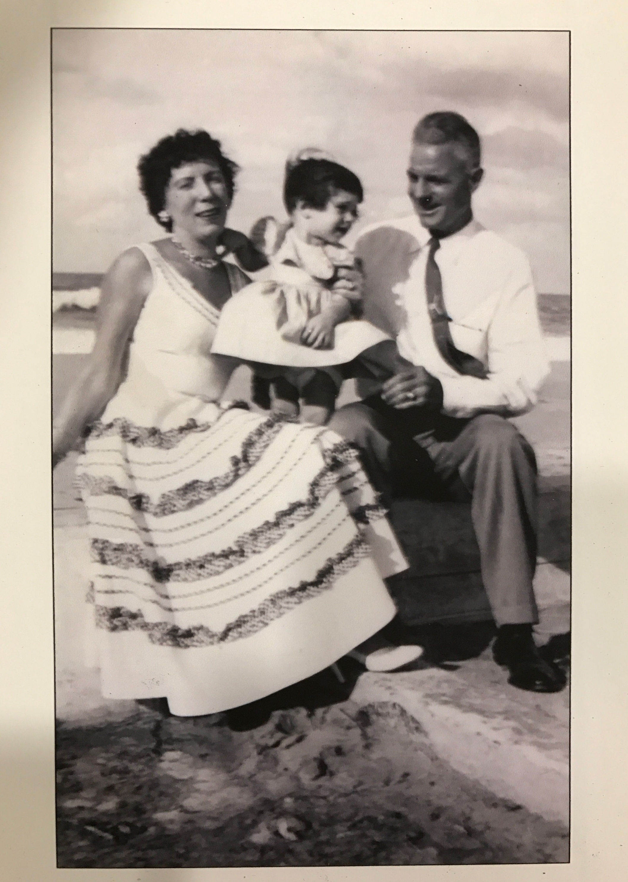 My mom and grandparents on the Malecon - the famous oceanfront boardwalk and boulevard in Havana.