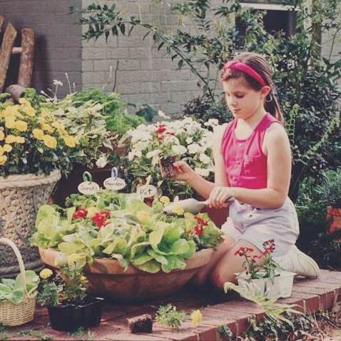 My first garden.