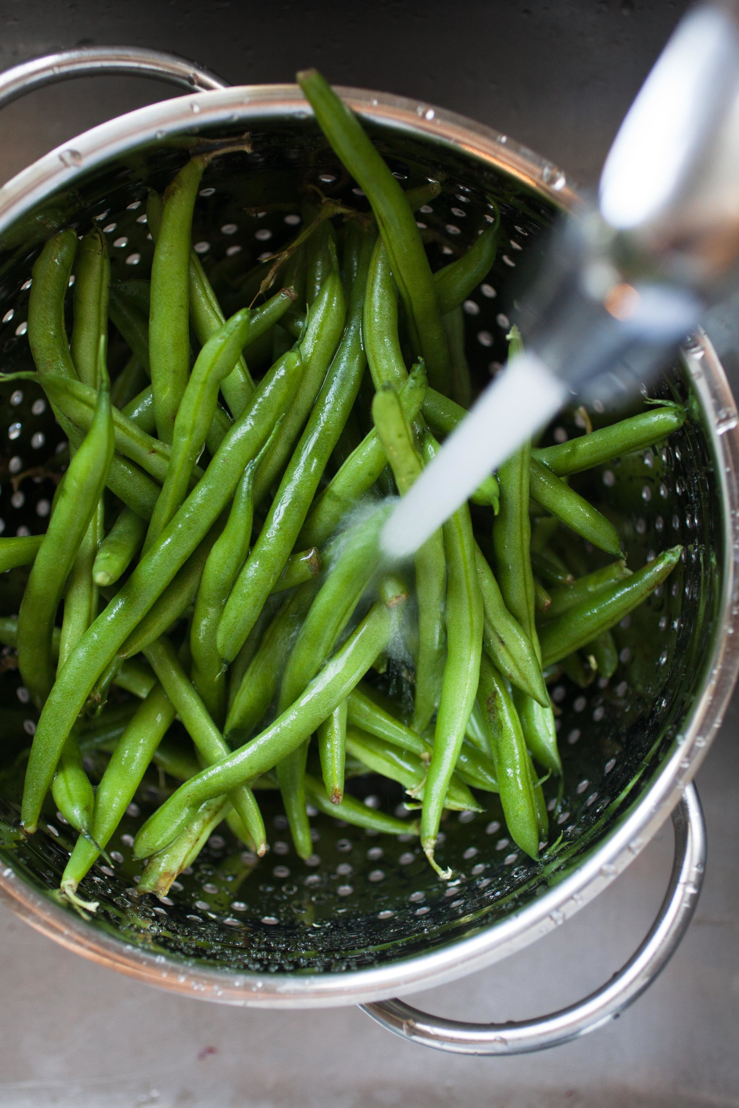 Blackberry Glazed Green Beans