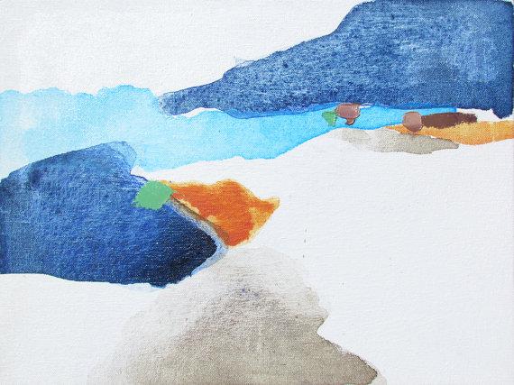 Lauren Adams,   Waterways III