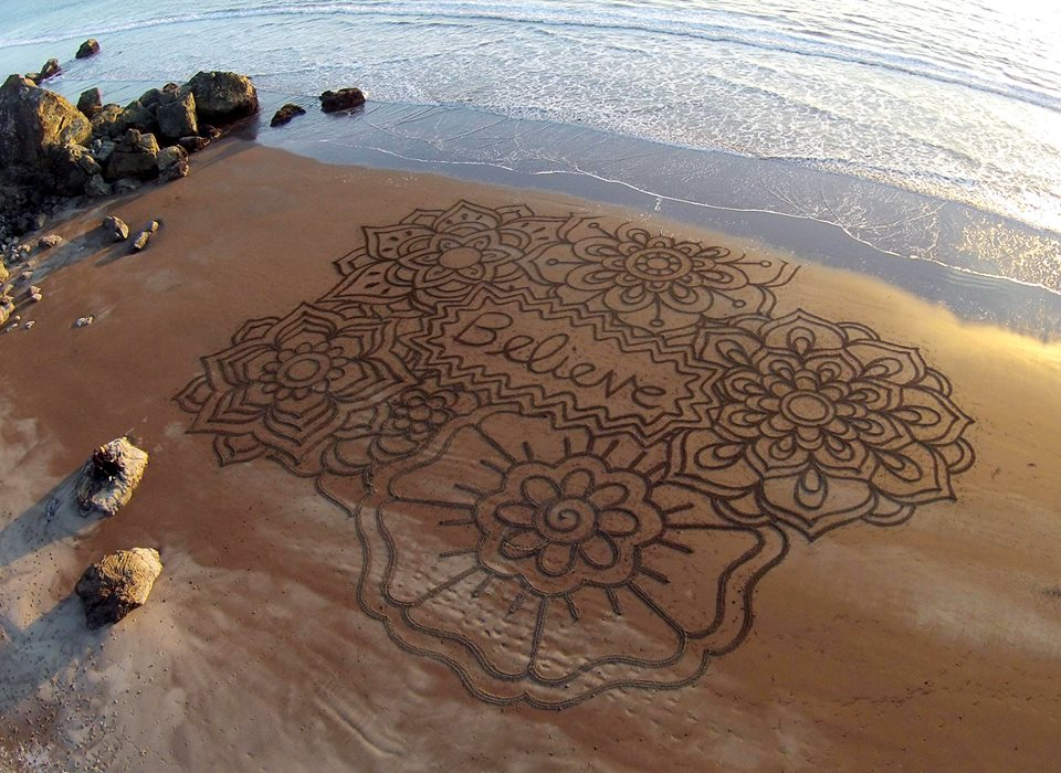 Beach Art by Andre Amador