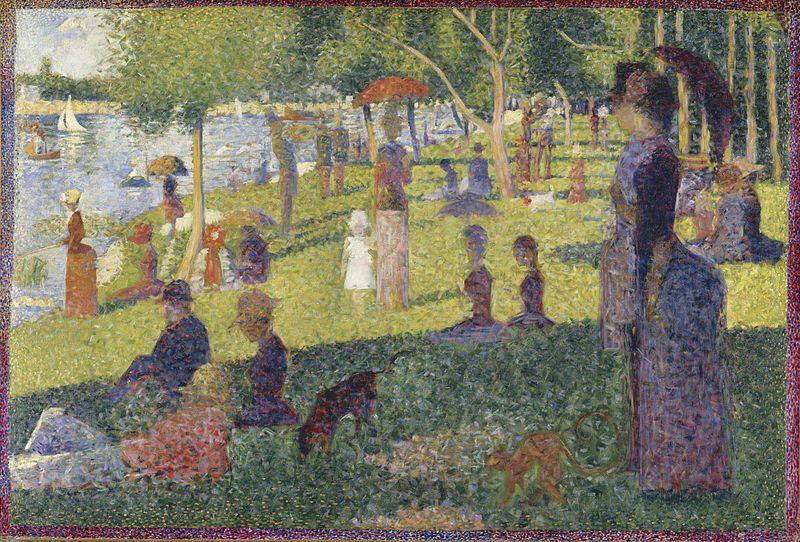 George Seurat,   A Sunday on La Grande Jatte