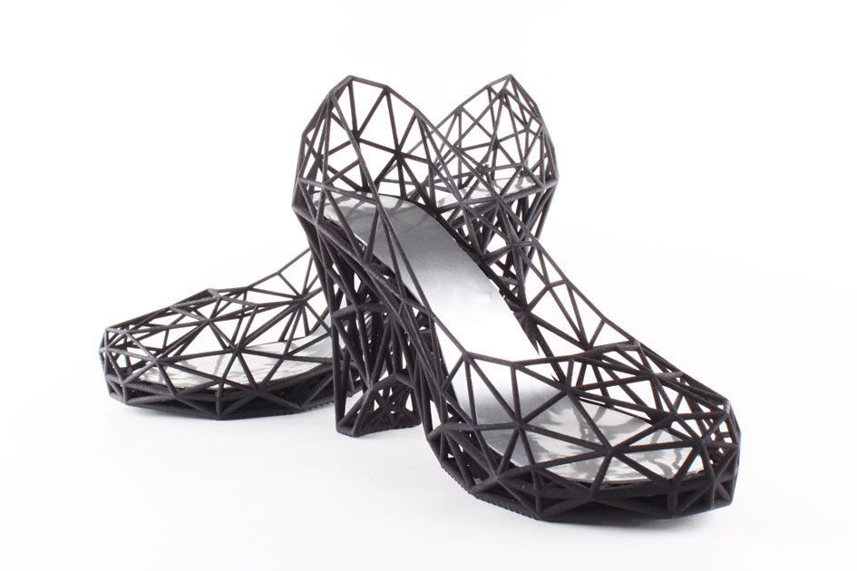 3D printed shoe from Continuum Fashion (not yet available at Zappos but soon?)