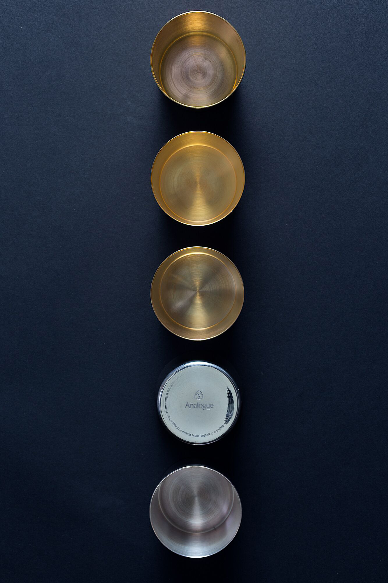 A series of cups from Analogue collection.