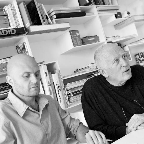 From the left: Roberto Rizzin, Bruno Fattorini.