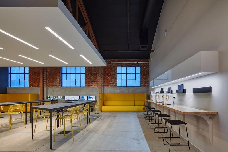 DesignLab interior architecture for SypplyFrame.  Photo credit: Benny Chan.