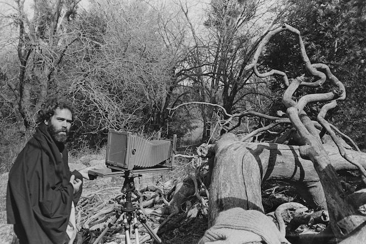 Ron working, Cuyamaca Rancho | 1986