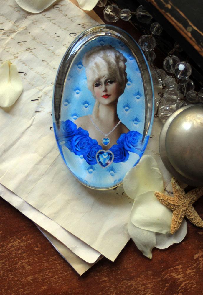 My Blue Valentine Paperweight