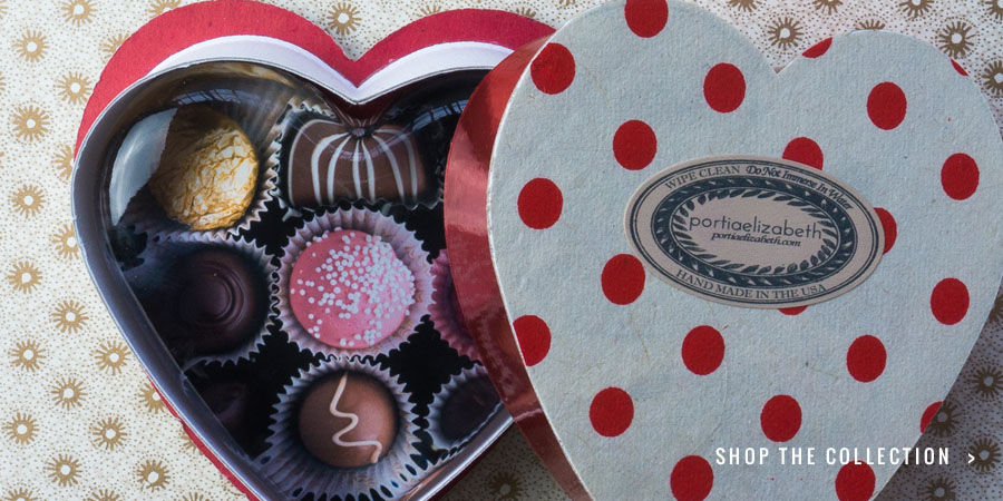 """Sweets for your Sweetie: """"Chocolates No. 1"""" Paperweight"""