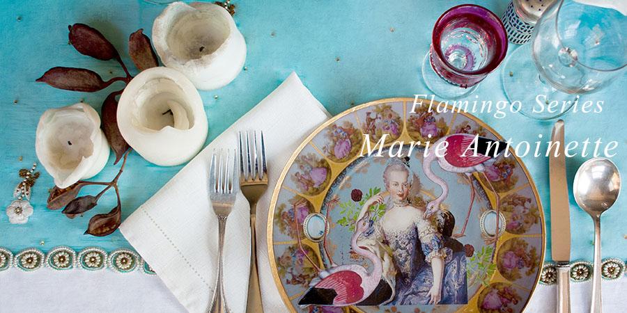 Marie Antoinette Flamingo Series