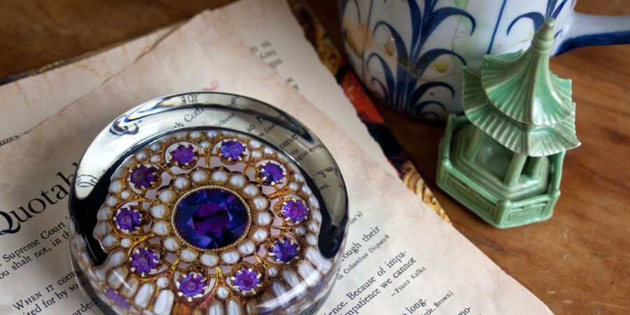 Queen's Jewels Paperweight