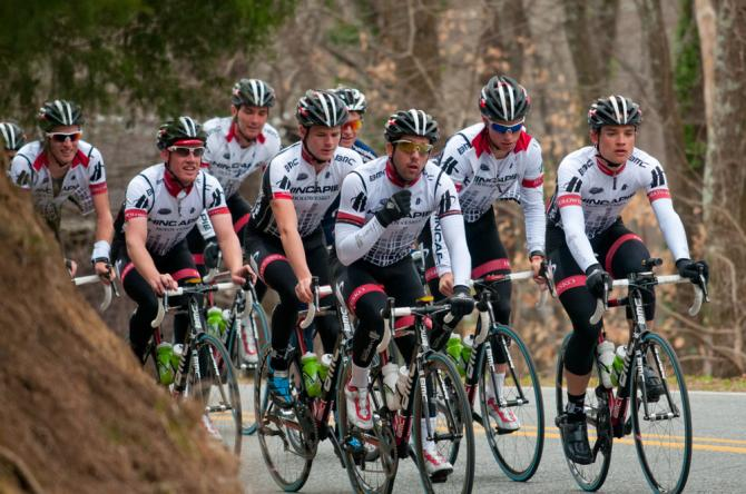 Hincapie Devo team at Training Camp