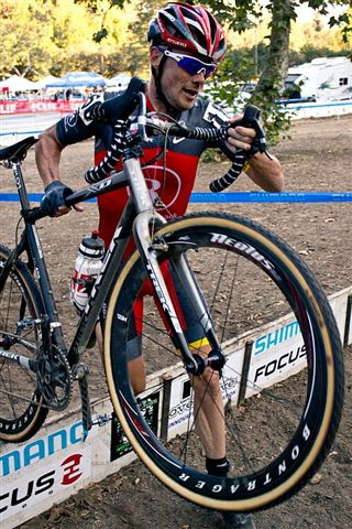 Chris Horner used cyclocross as a way to work on bike handling and maintain high intensity fitness in the off-season