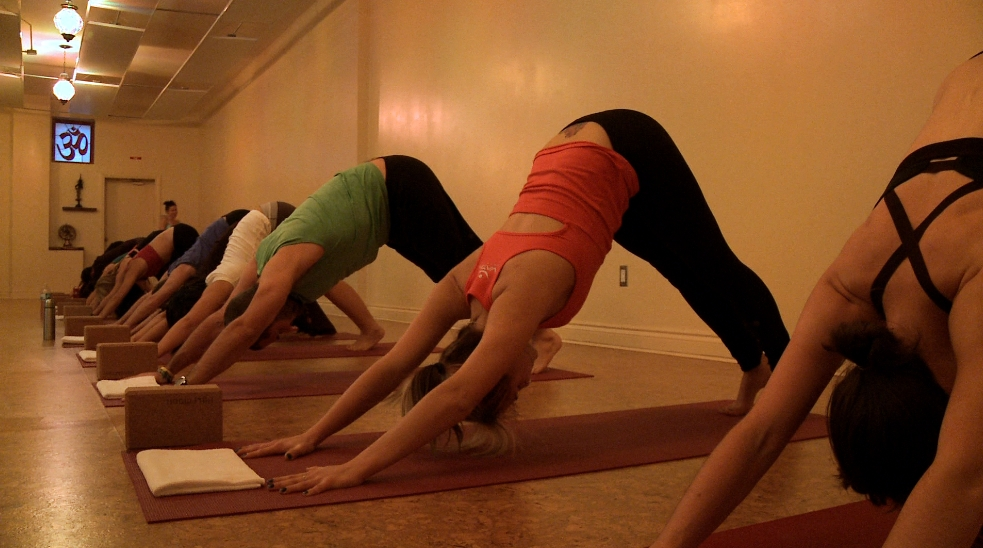 Yoga is a wonderful way to work on core strength, flexibility and perhaps most of all, focus and breathing.
