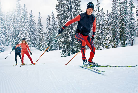 Cross Country skiing is great, if you live in the right climate, own the right equipment, and have access to groomed trails. For many others, however, it's not an option.