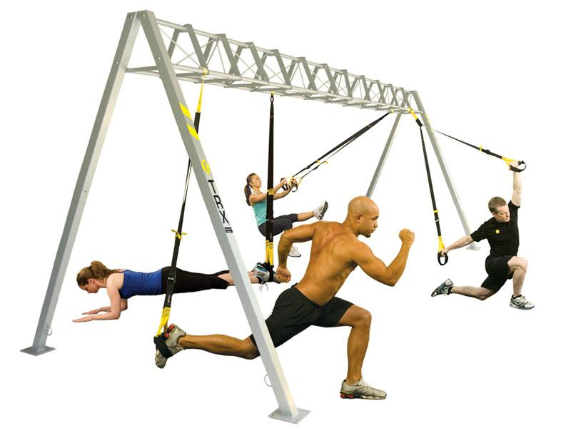 Suspension training allows athletes to either a) take away stability in order to add a balance aspect and work stabilizing muscles or b) support major muscle groups in order to isolate specific muscles