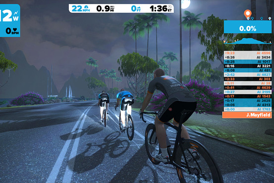 Using Zwift or other VR cycling programs can make indoor riding more tolerable. Just make sure you don't get sucked into going harder than you want to.
