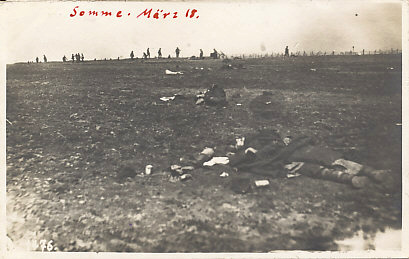 Much of the captured territory of 1918 was strategically useless. To make things worse, without the protection of the trenches, casualties skyrocketed.