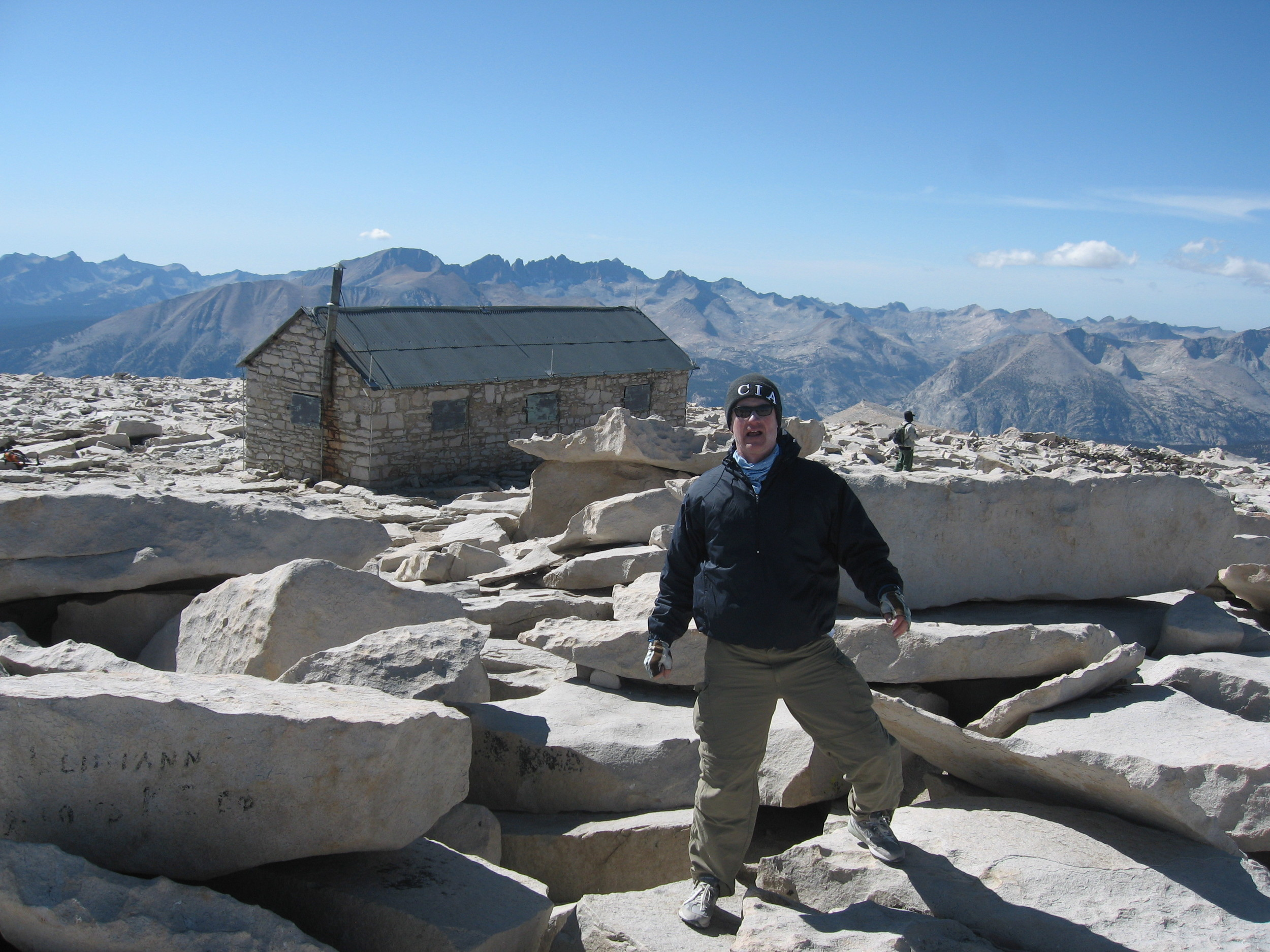 Summit of Mount Whitney   To make it to the top, keep putting one foot in front of the other.