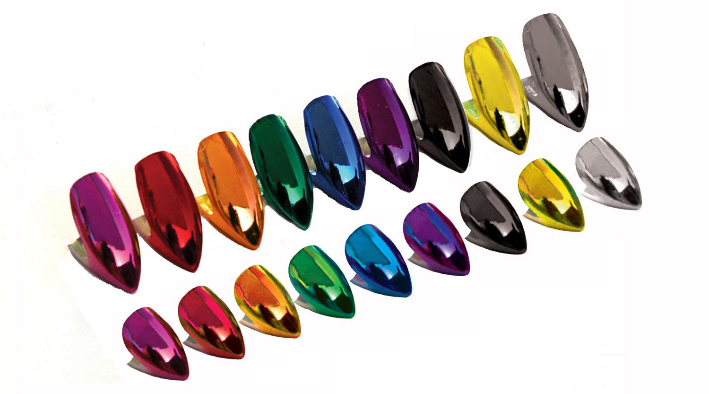 Glam Metallic Deluxe Custom Fangs
