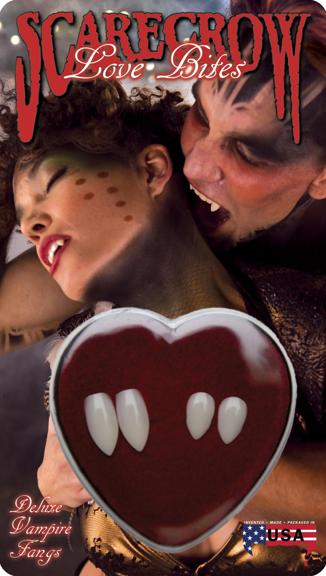 Couple Love Bites Deluxe Custom Fangs (LBC200)
