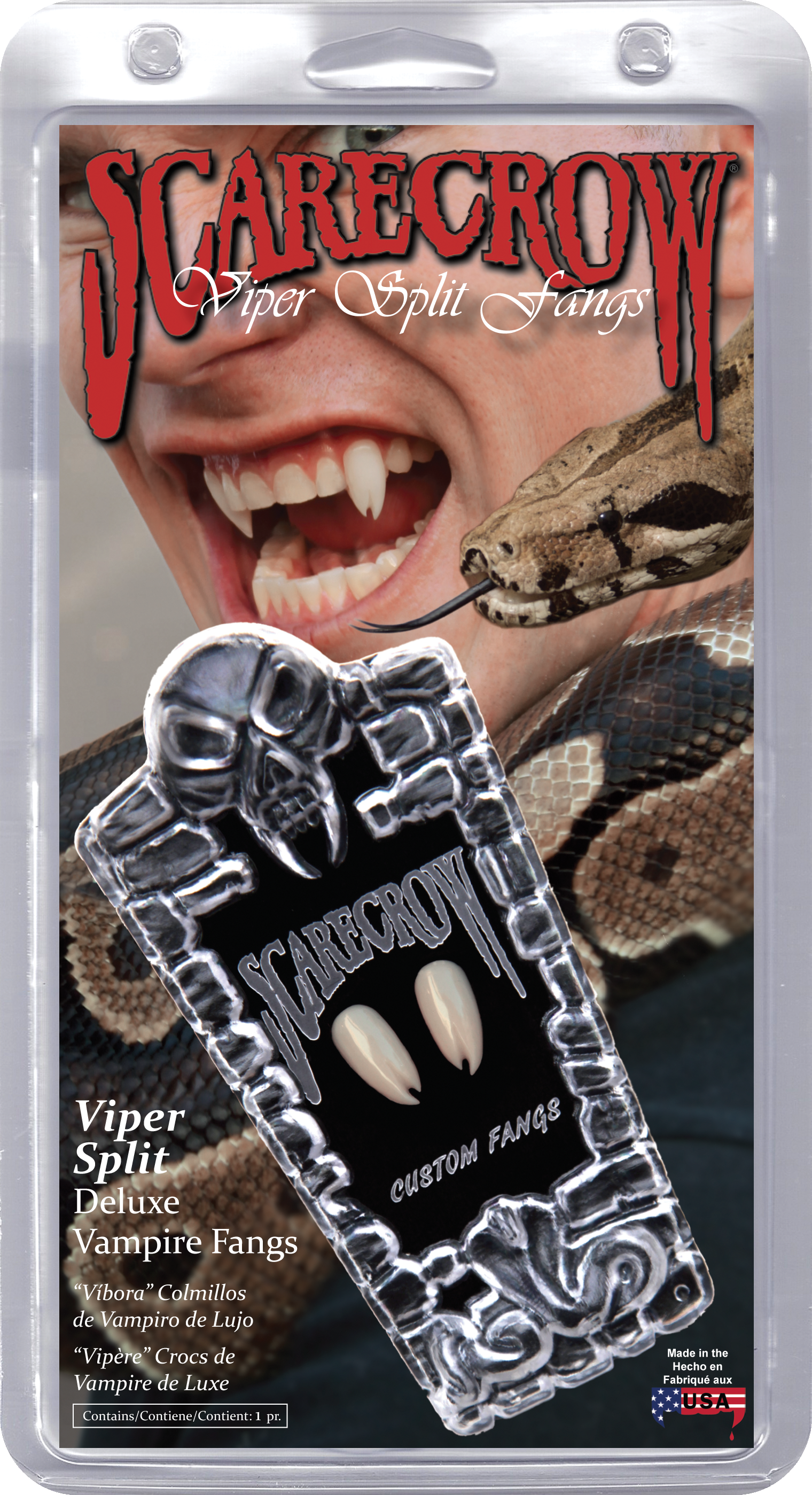 Copy of Viper Split Deluxe Custom Fangs (VF600)