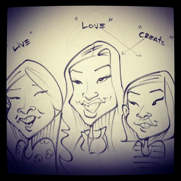 livecreatelove caricature