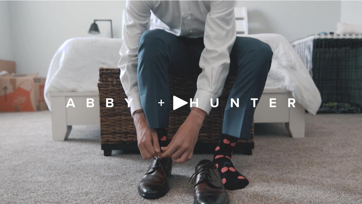 abby + hunter - 24 hour wedding highlight video (demo)
