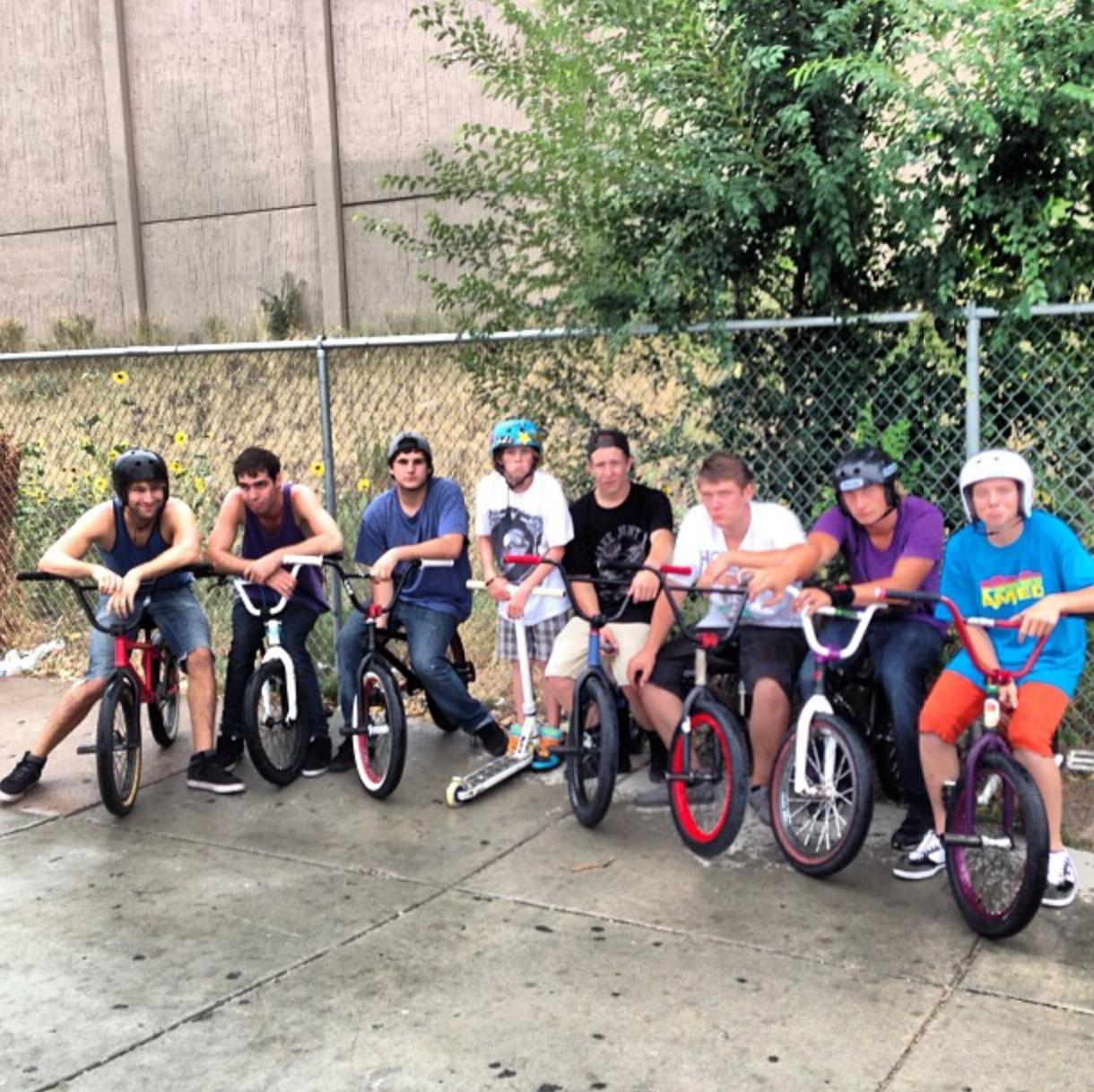 Josh and the SkateChurch boys!