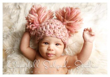 newborn baby photography by Campbell Salgado Studio