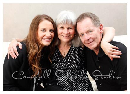 professional family portrait by Campbell Salgado Studio