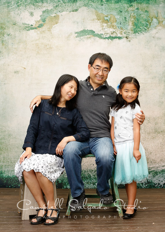 Family portrait photography by Campbell Salgado Studio, Portland, Oregon
